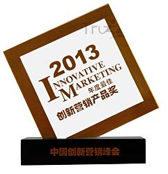 2013年度立异营销产物奖