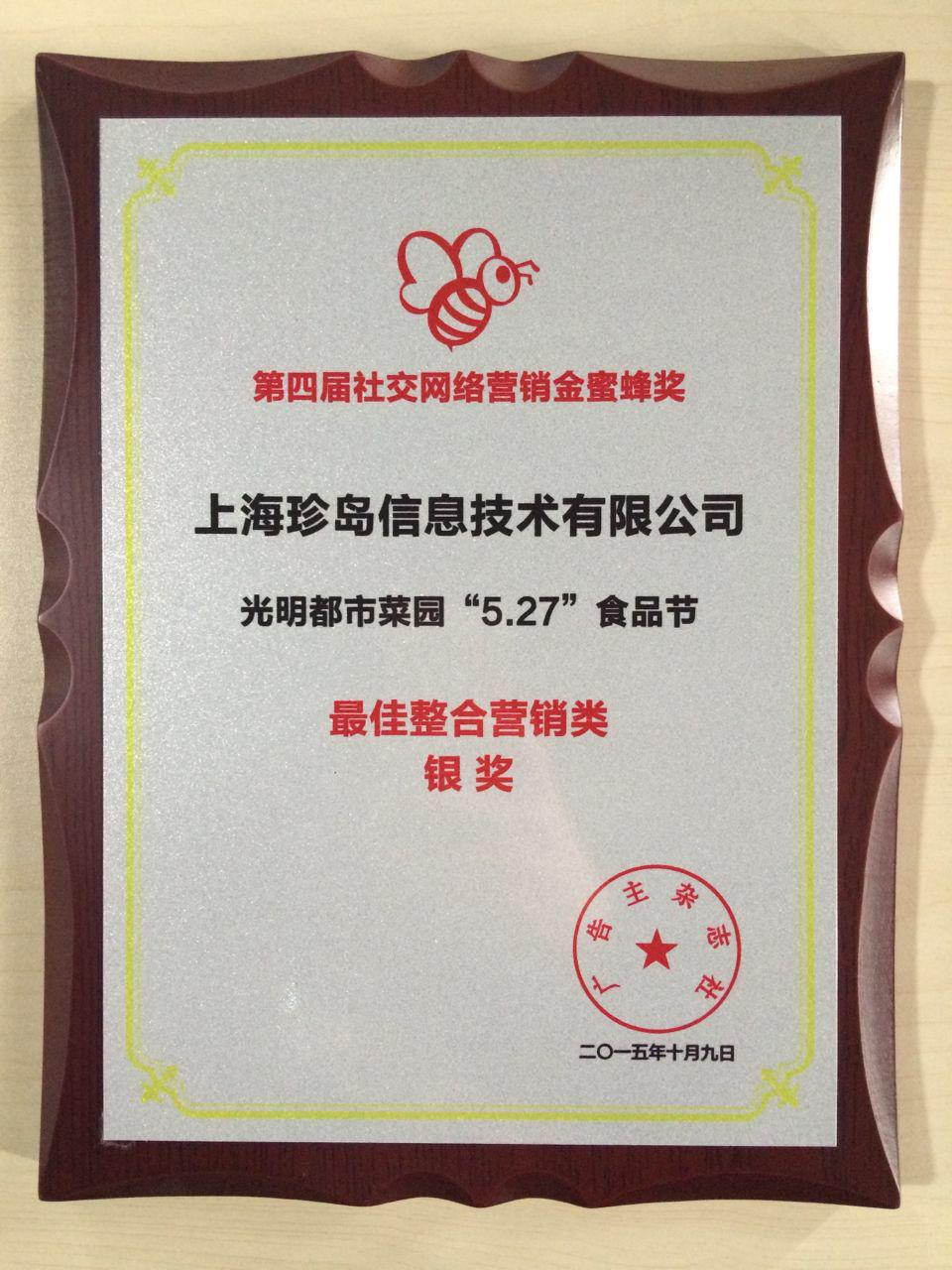 光亮527-最好整合营销类银奖