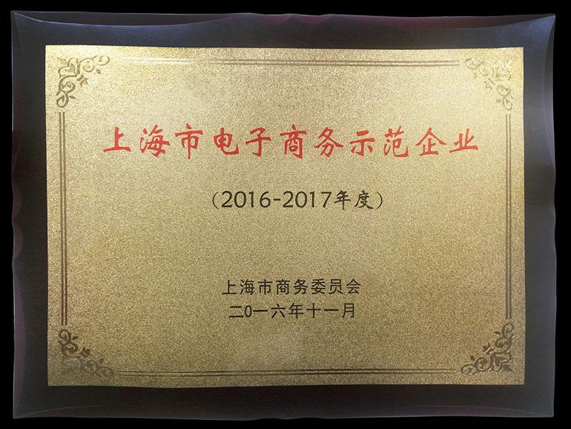 上海市电子商务树模企业
